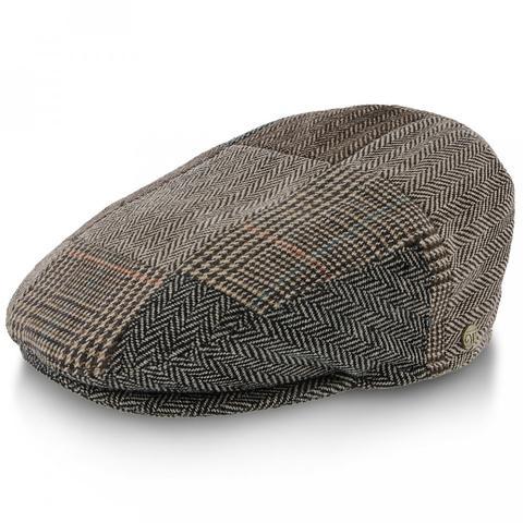 La casquette plate irlandaise, avec un motif à trois panneaux et un motif en tweed, peut vraiment améliorer votre style.