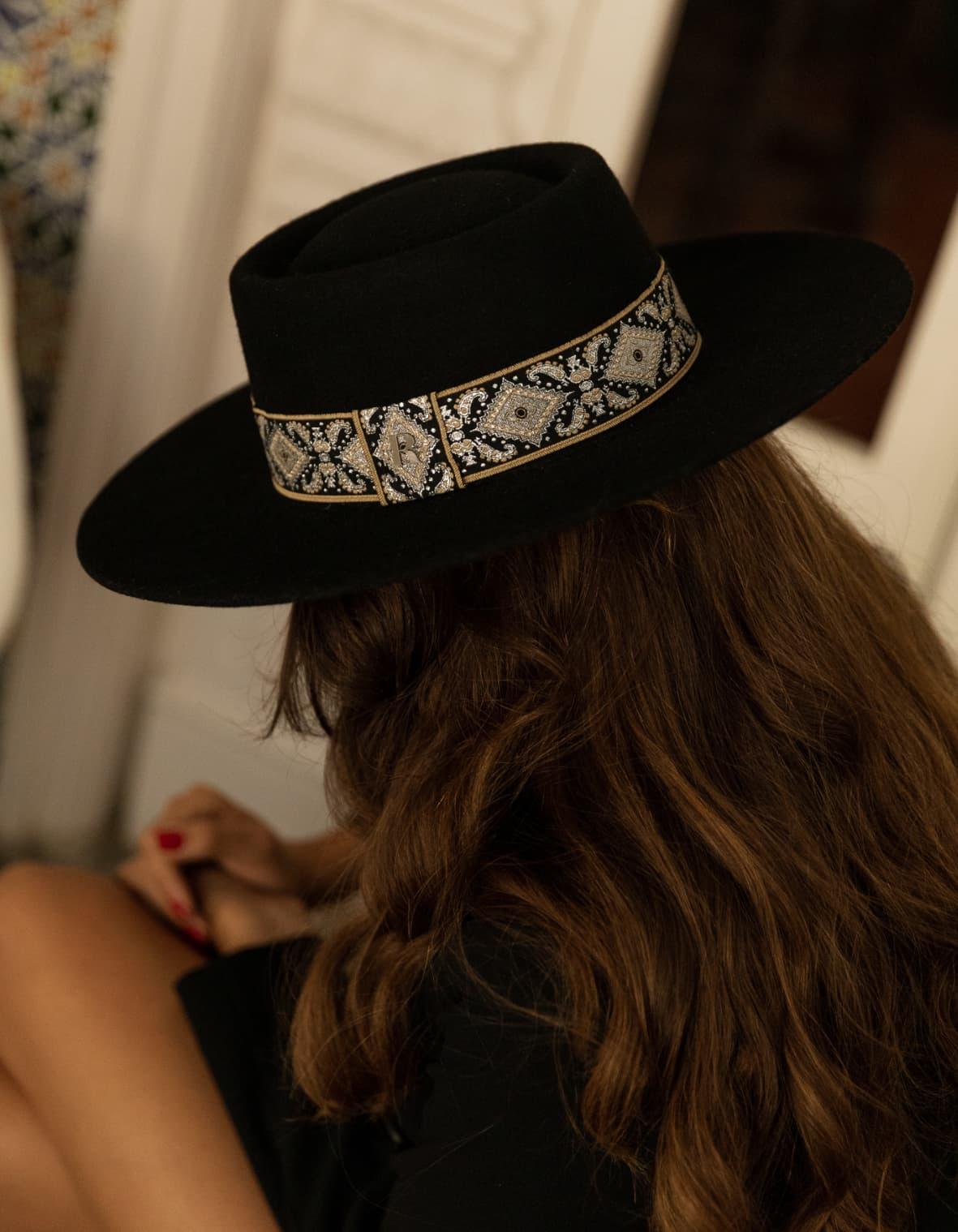 feutre chapeau d'hiver tendances style canotier